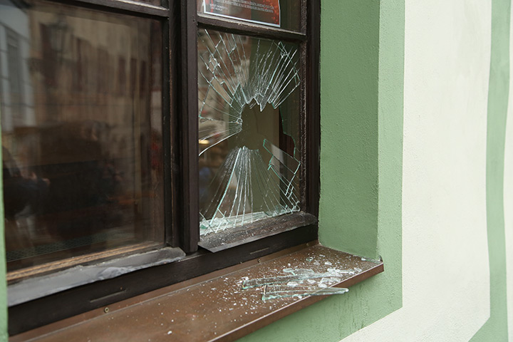 A2B Glass are able to board up broken windows while they are being repaired in Bayswater.